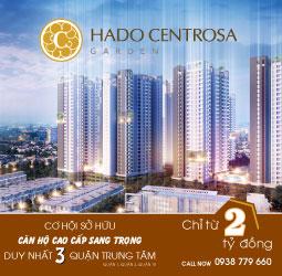 HaDo Centrosa Garden - chính thức giữ chỗ