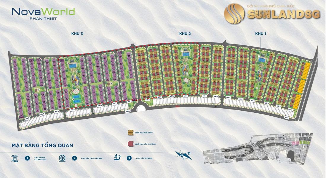 Phân Khu Florida Phase 2  Dự Án Novaworld Phan Thiết