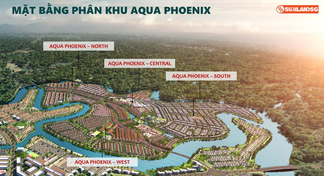 Mắt Bằng Các Phân Khu Tại The Phoenix Aqua City