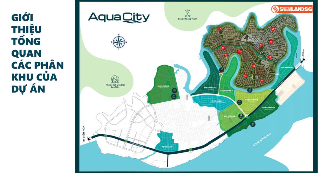 Vị Trí Phân Khu The Phoenix Aqua City