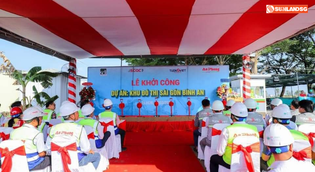 Lễ Khởi Công Dự Án Sài Gòn Bình An
