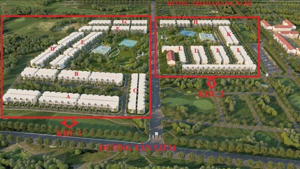 tổng thể GD1 dự án Lovera park