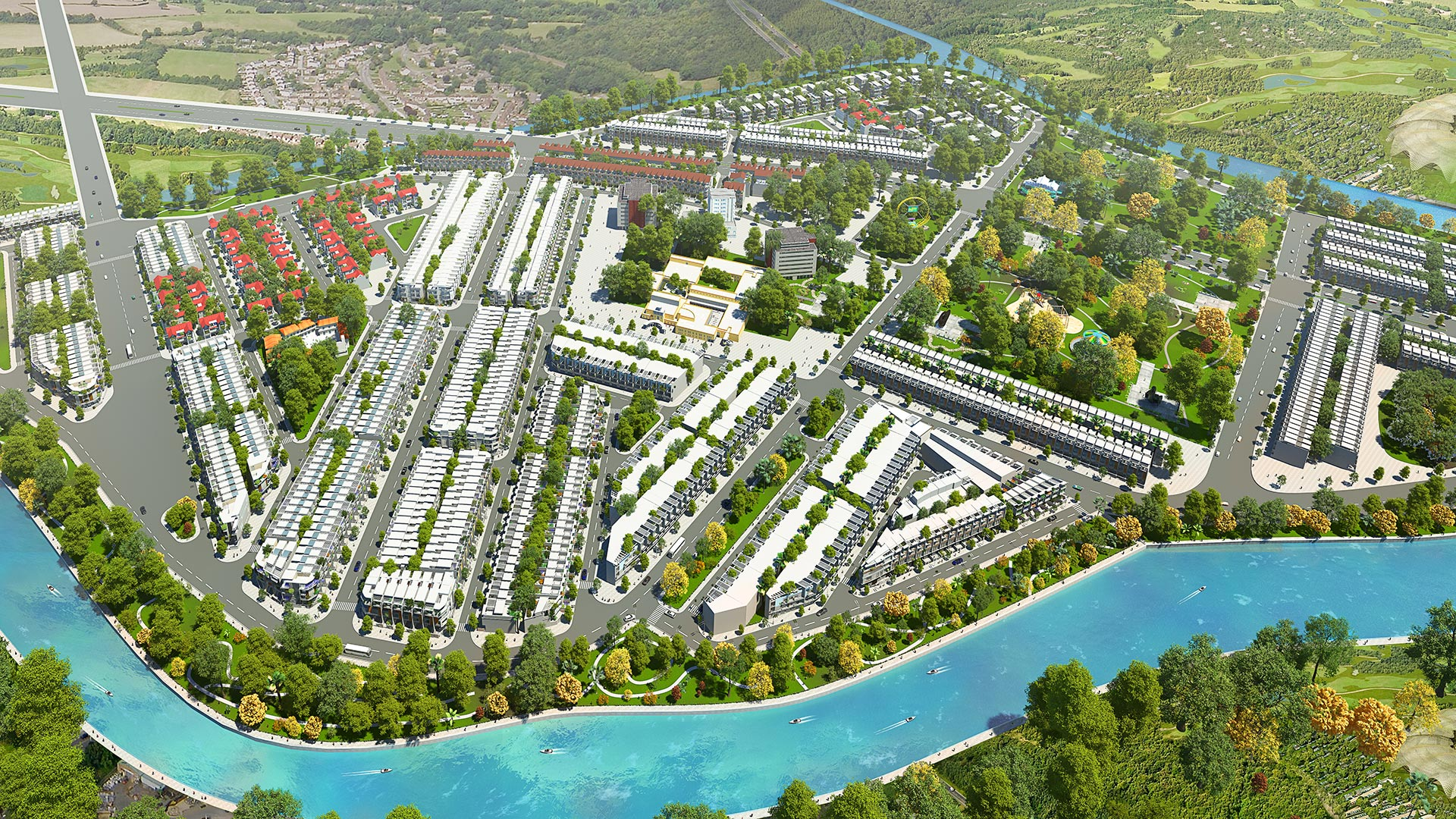 khu dan cu dai phuc green villas