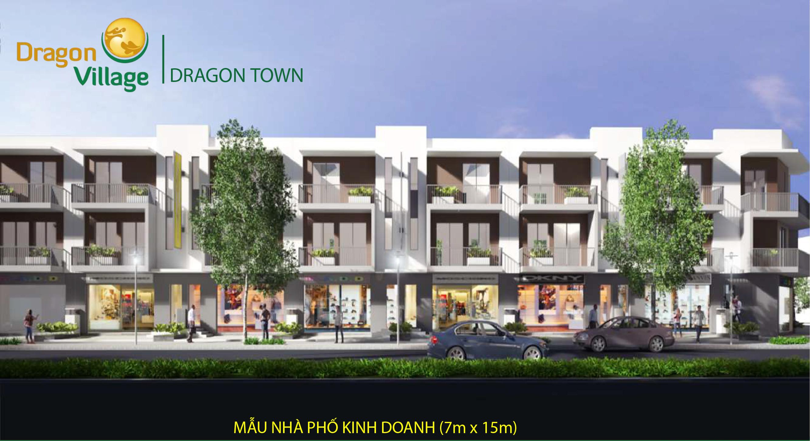 mẫu nhà dragon town 1