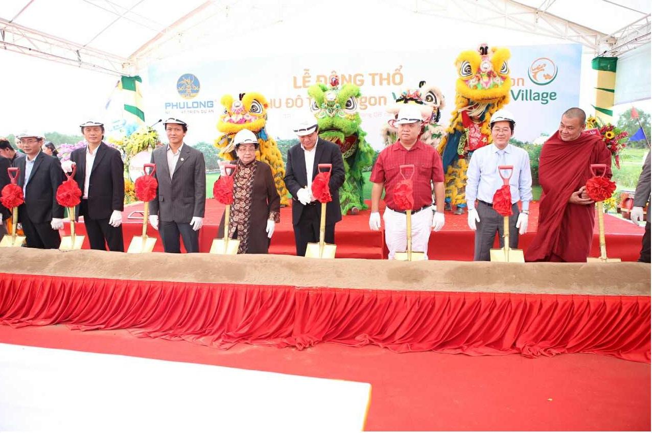 Lễ động thổ dự án Dragon Village Phú hữu Quận 9