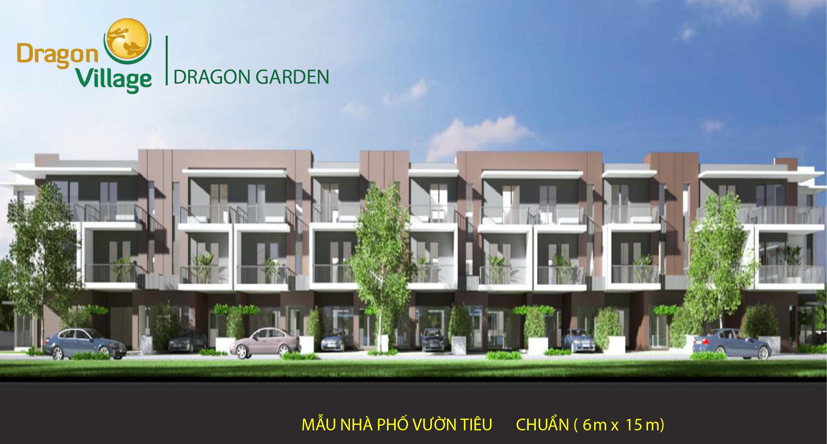 nhà phố vườn dragon village