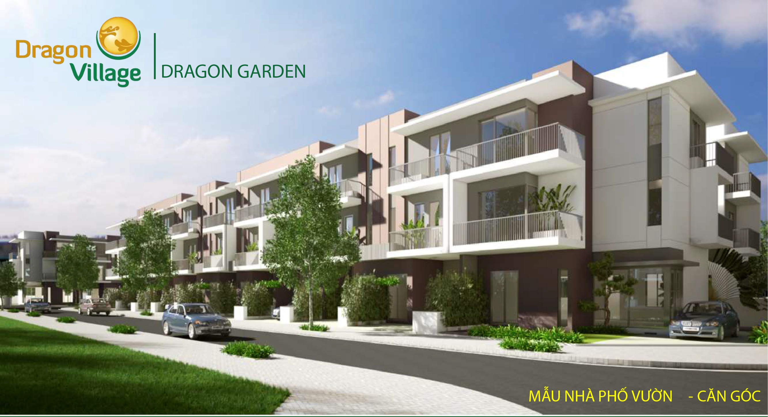 nhà phố vườn dragon garden