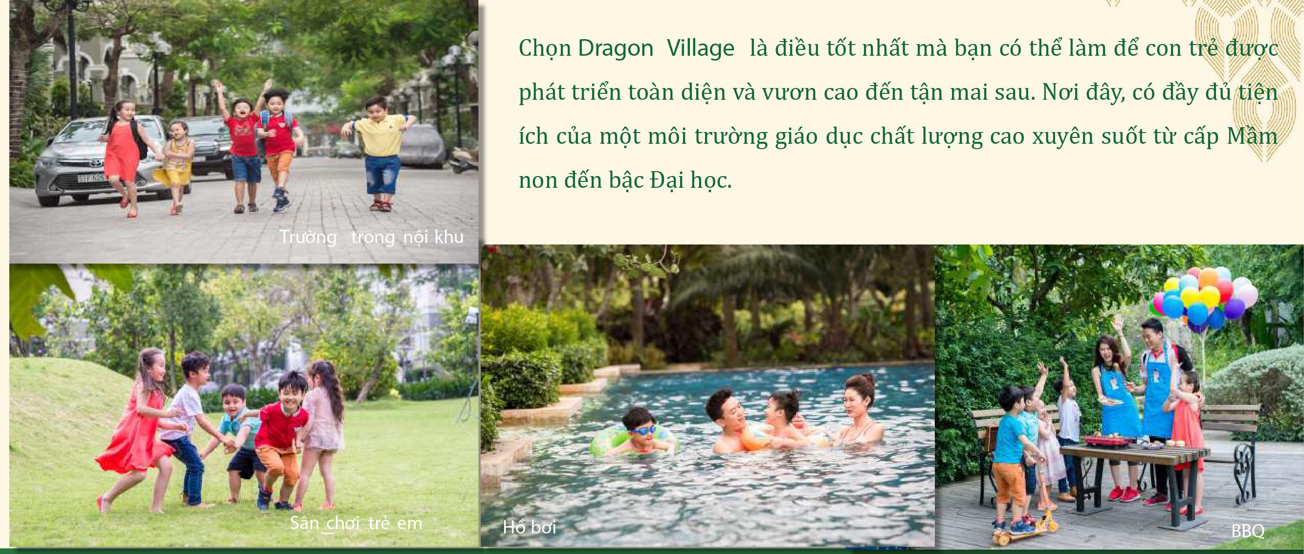 tiện ích dragonvillage quan 9