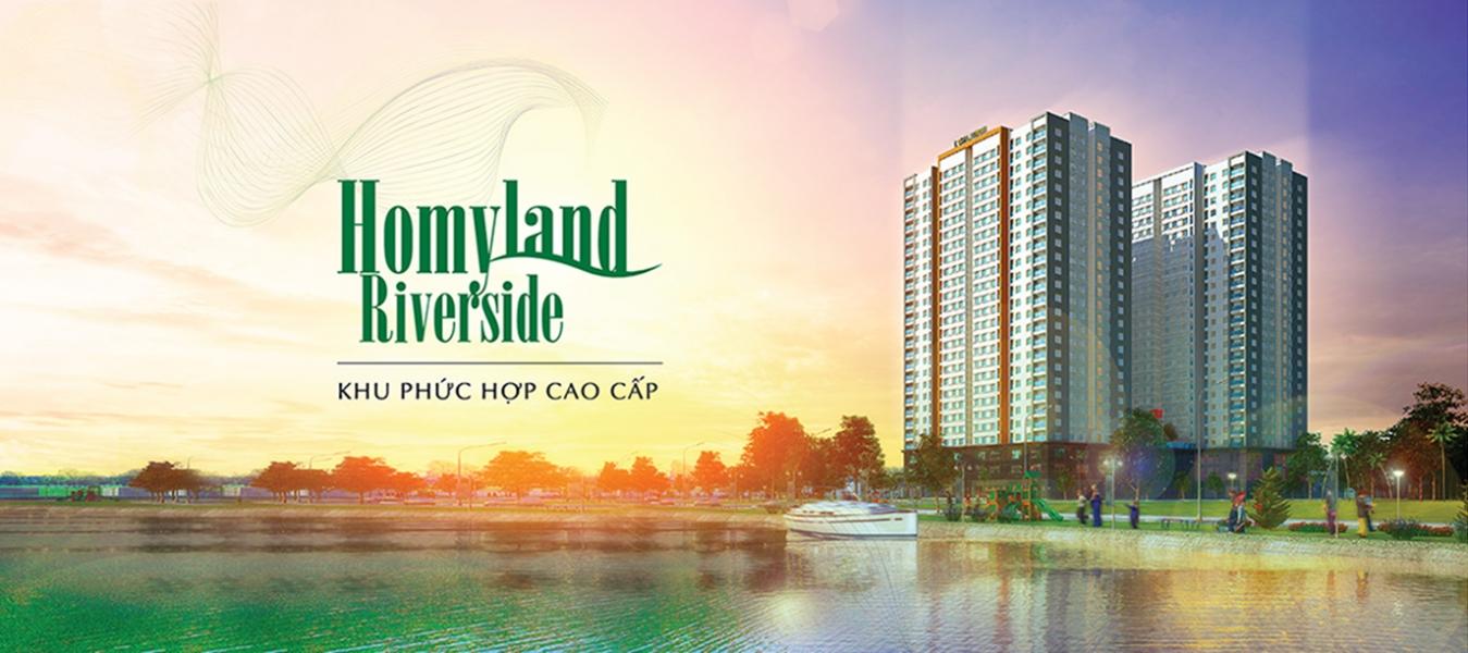 Homyland Riverside khu dân cư phức hợp cao cấp