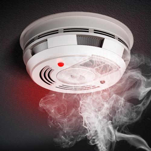 thiết bị báo khói