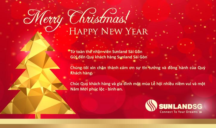 SUNLANDSG - Chúc Quý Khách hàng một mùa giáng sinh an lành ấm áp