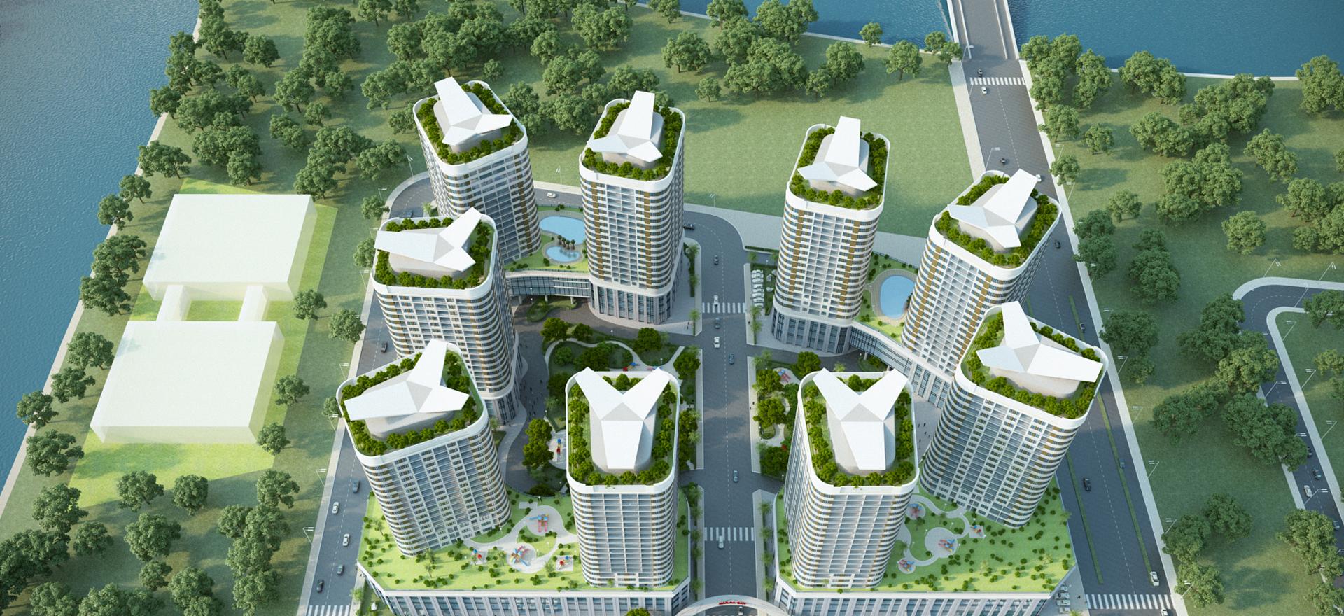 Dự án Marina Bay Thủ Thiêm và dự án Thủ Thiêm Lakeview do CII đầu tư. Dự án căn hộ Marina Bay và Thủ Thiêm Lake View quận 2 đang bán nội bộ