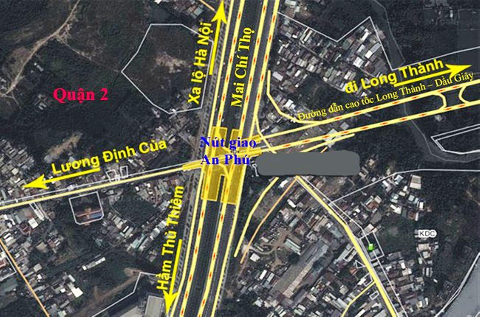 Nút giao thông An Phú Quận 2