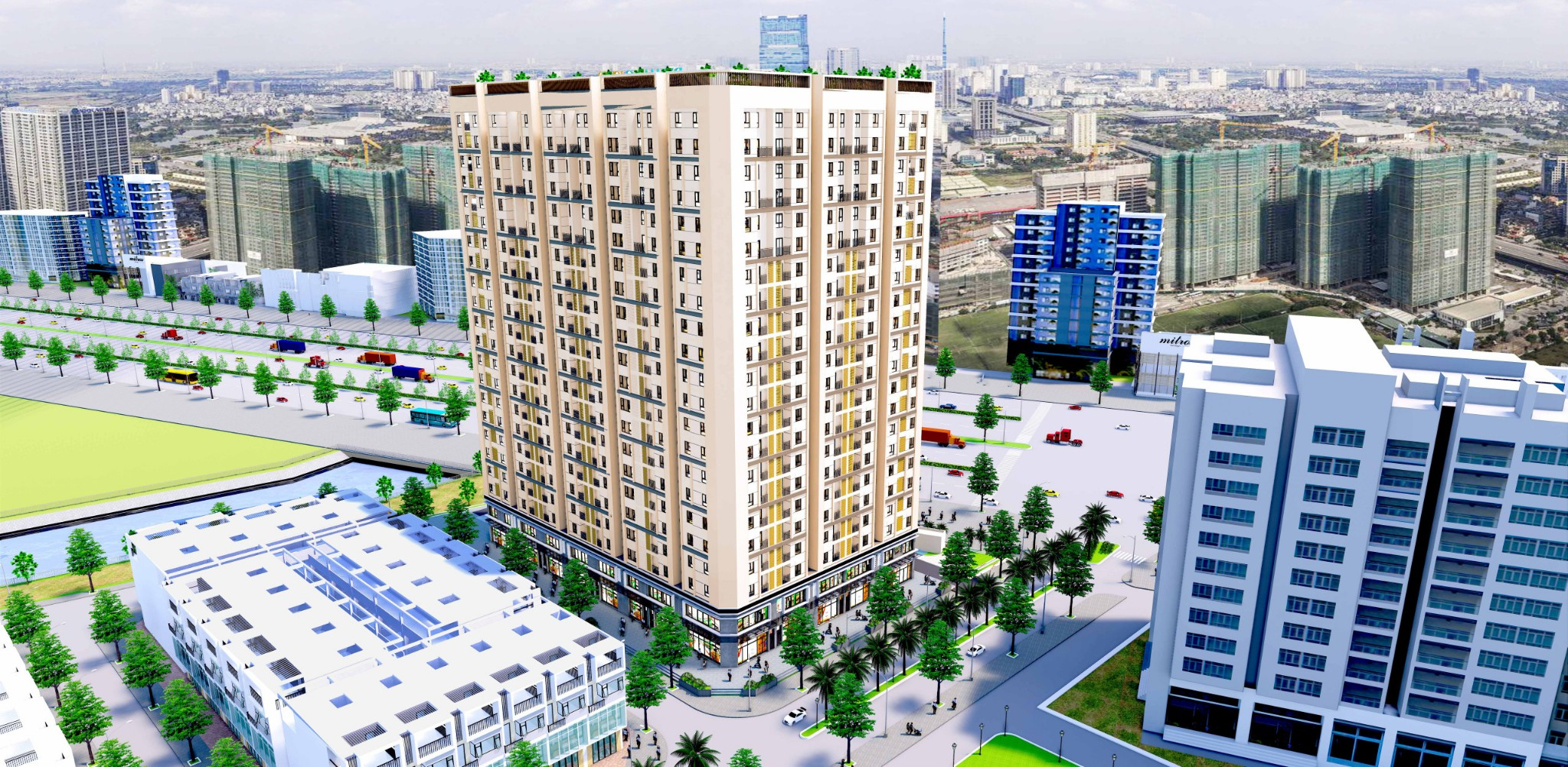 phoi canh dynamic tower