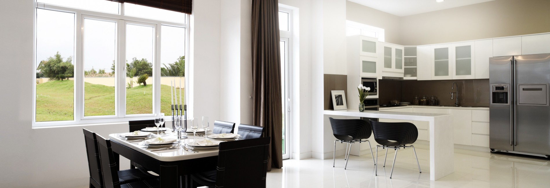 Thực tế thiết kế nội thất của Villa Park