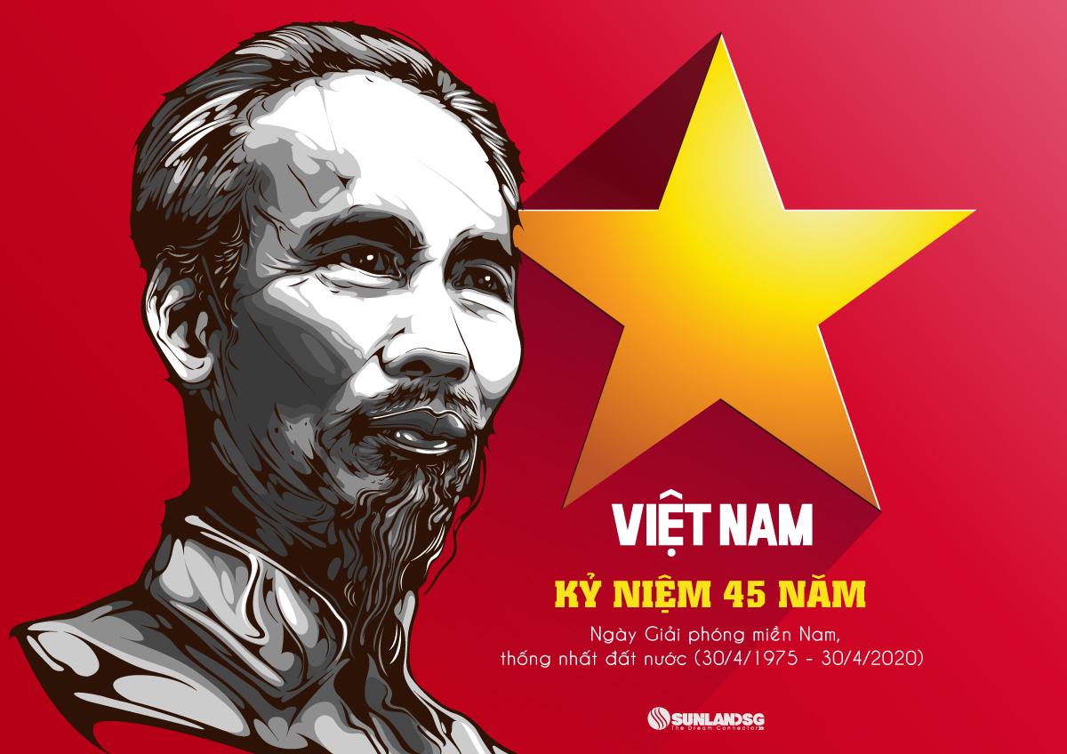kỷ niệm 45 năm thống nhất miền nam, giải phóng đất nước