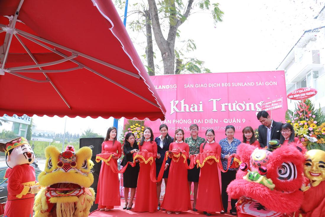Khai trương văn phòng Sunland Sài Gòn