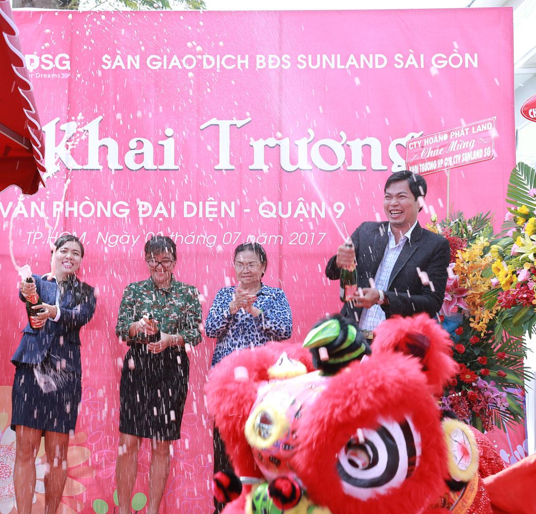 Khai trương chi nhánh Sunland Sài Gòn