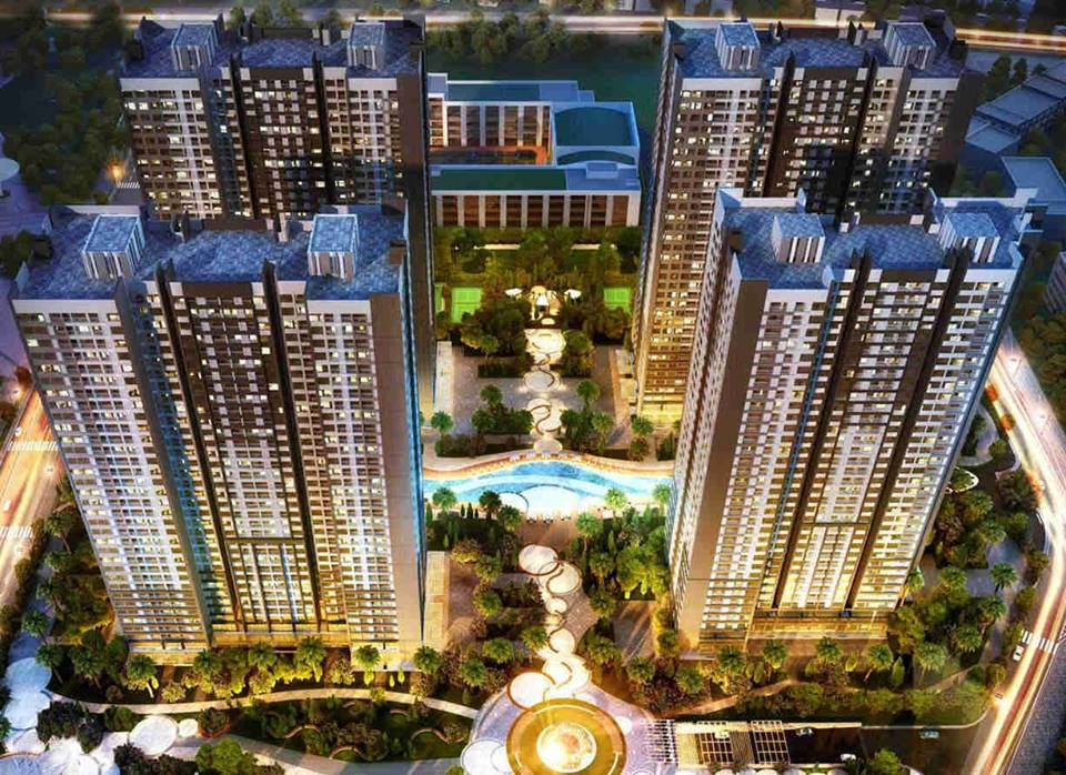 Phối cảnh dự án căn hộ Vincity