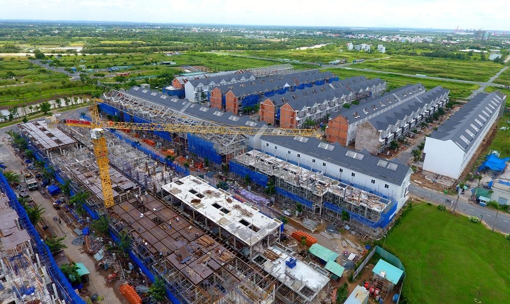 Đây là một trong hai dự án do Tập đoàn M.I.K Corporation làm chủ đầu tư. Hiện, 10 dãy biệt thự liền kế của dự án đã hoàn thành.