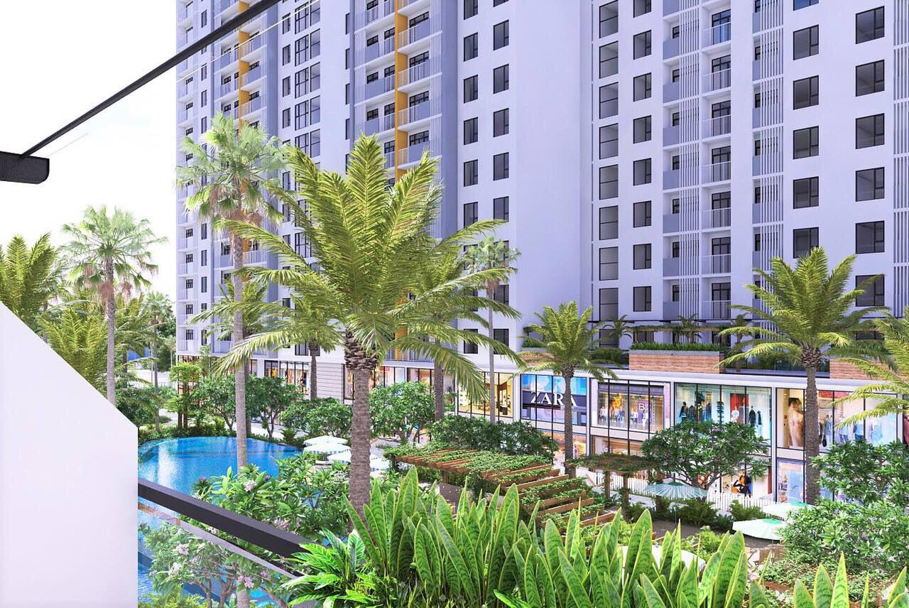Thiết kế thông thoáng của căn hộ Jamila Khang Điền