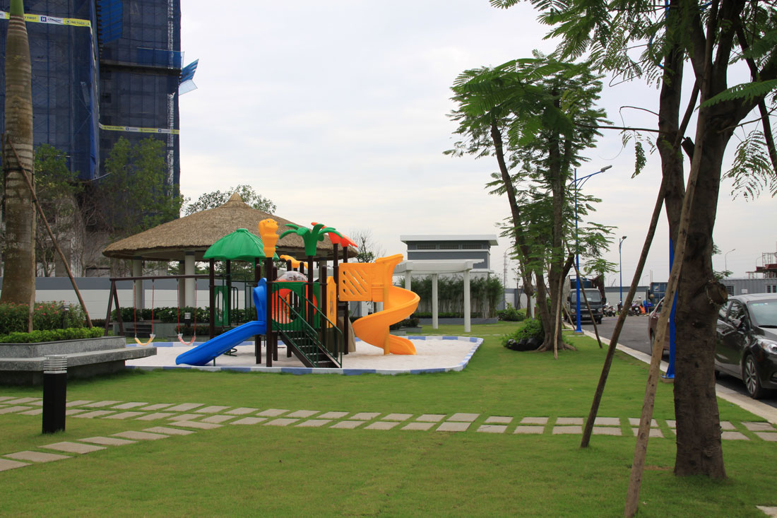 khu vui chơi trẻ em tại merira khang điền