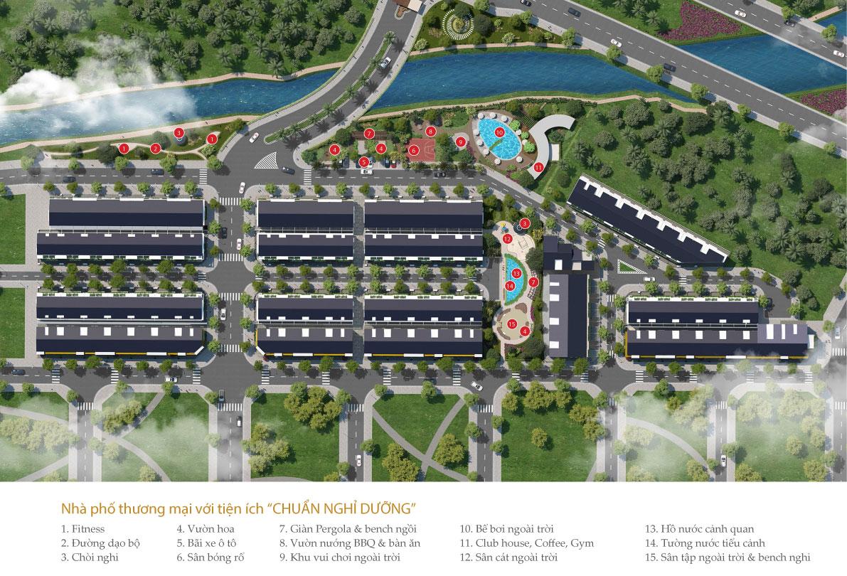 Tổng quan dự án nhà phố River Park Quận 9