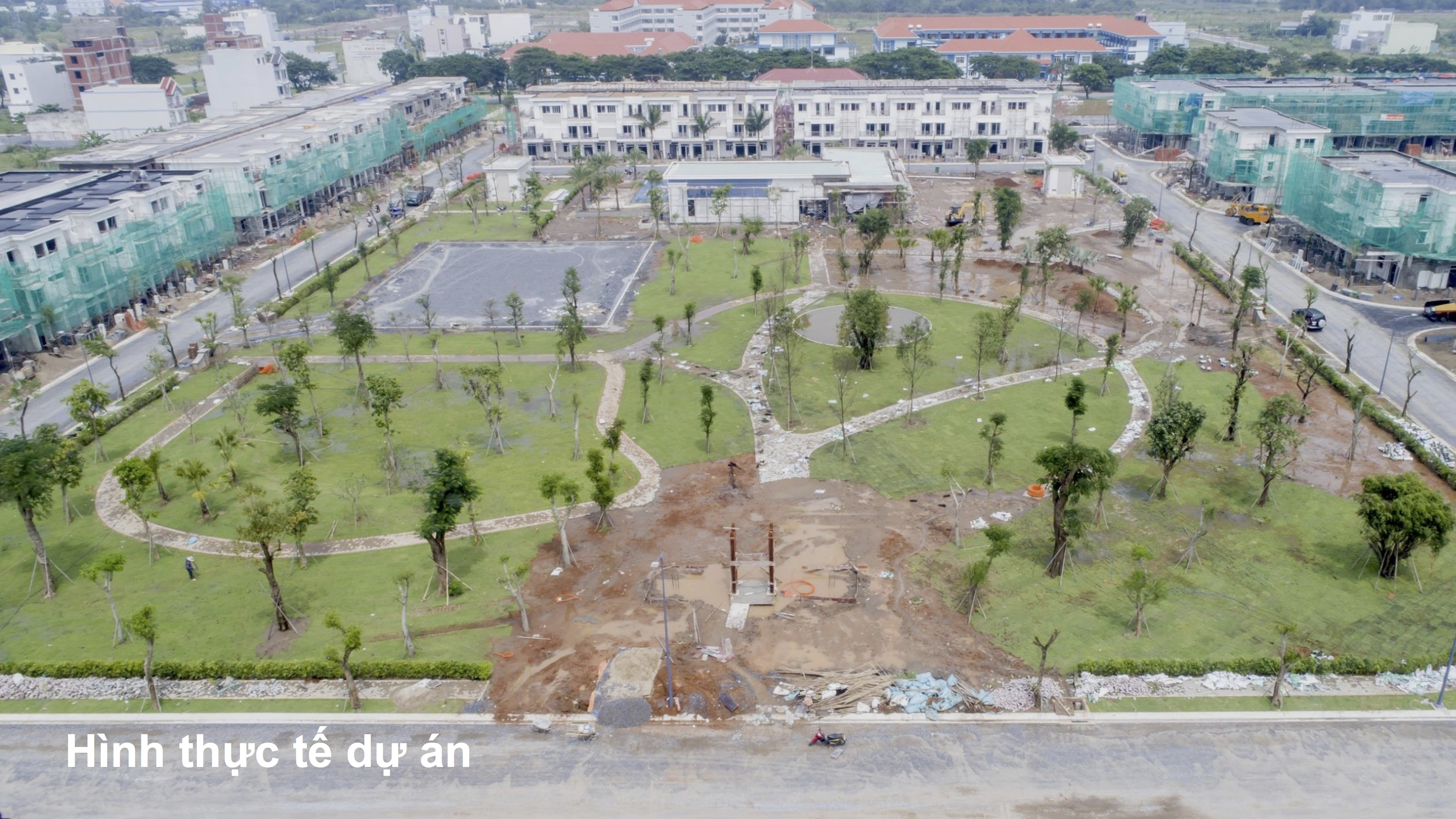 Hình thực tế tạo Lovera Park