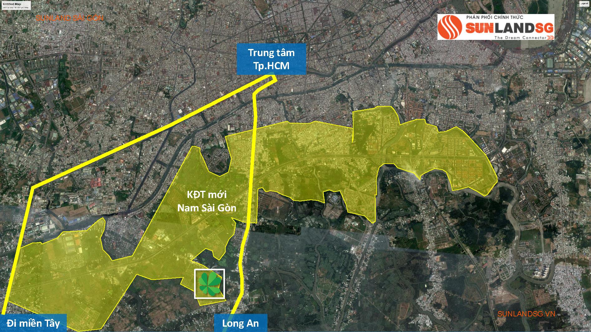 Lovera Park kết nối Đông Tây đều thuận tiện