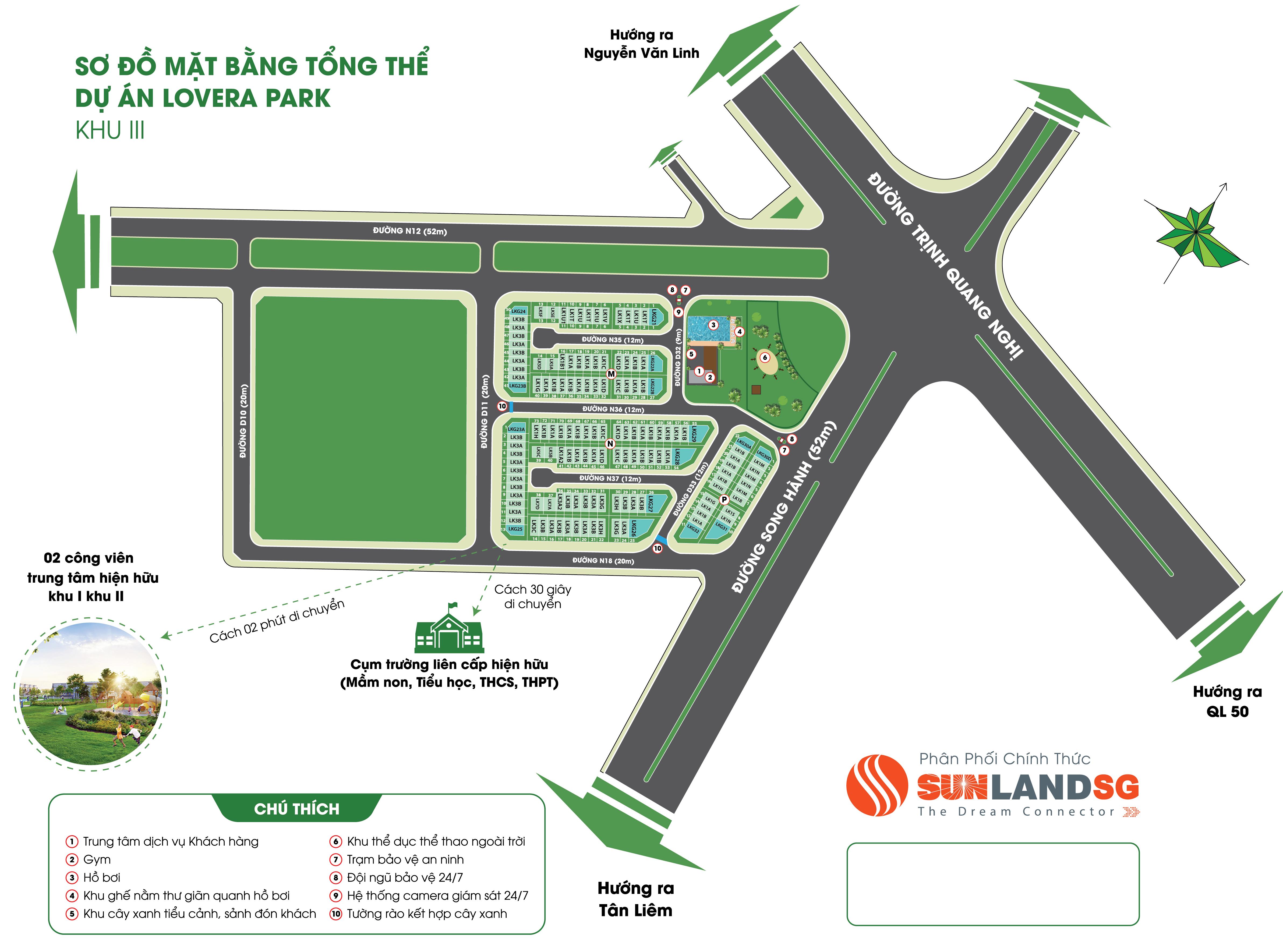 mở bán Khu 3 Lovera Park Khang Điền