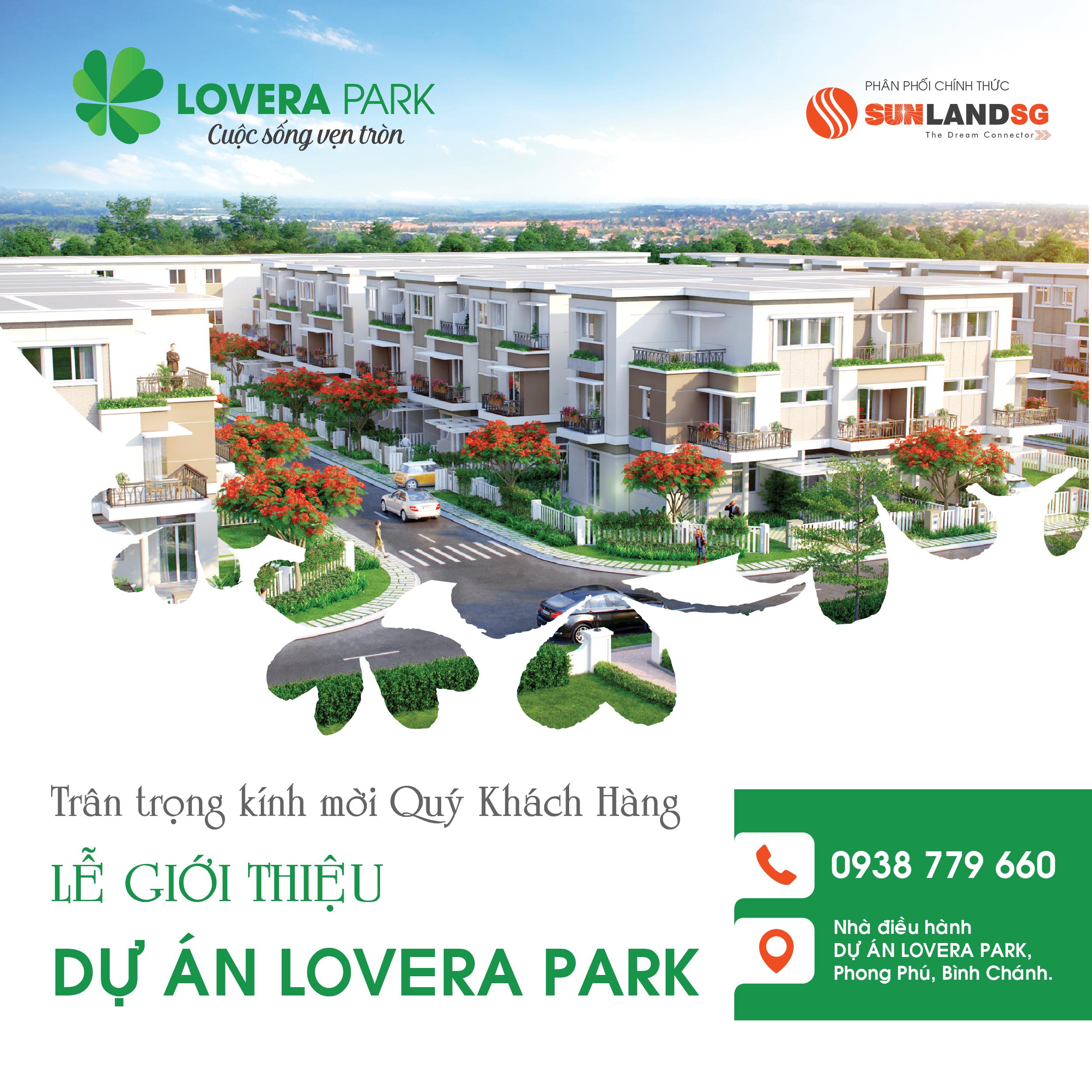 Mở bán dự án lovera park bình chánh phong phú