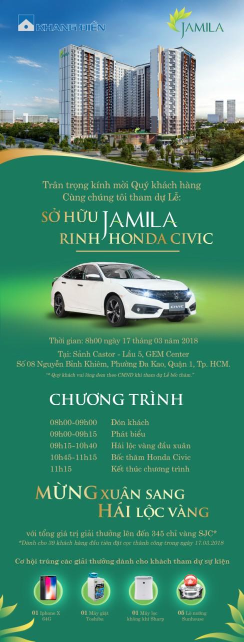 Mở bán đợt cuối Jamila Khang Điền