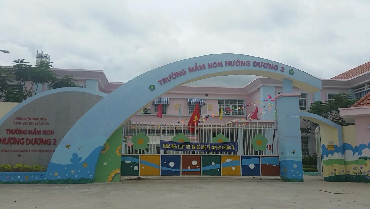 Trường học hiện hữu tại Phong Phú 4 Bình Chánh