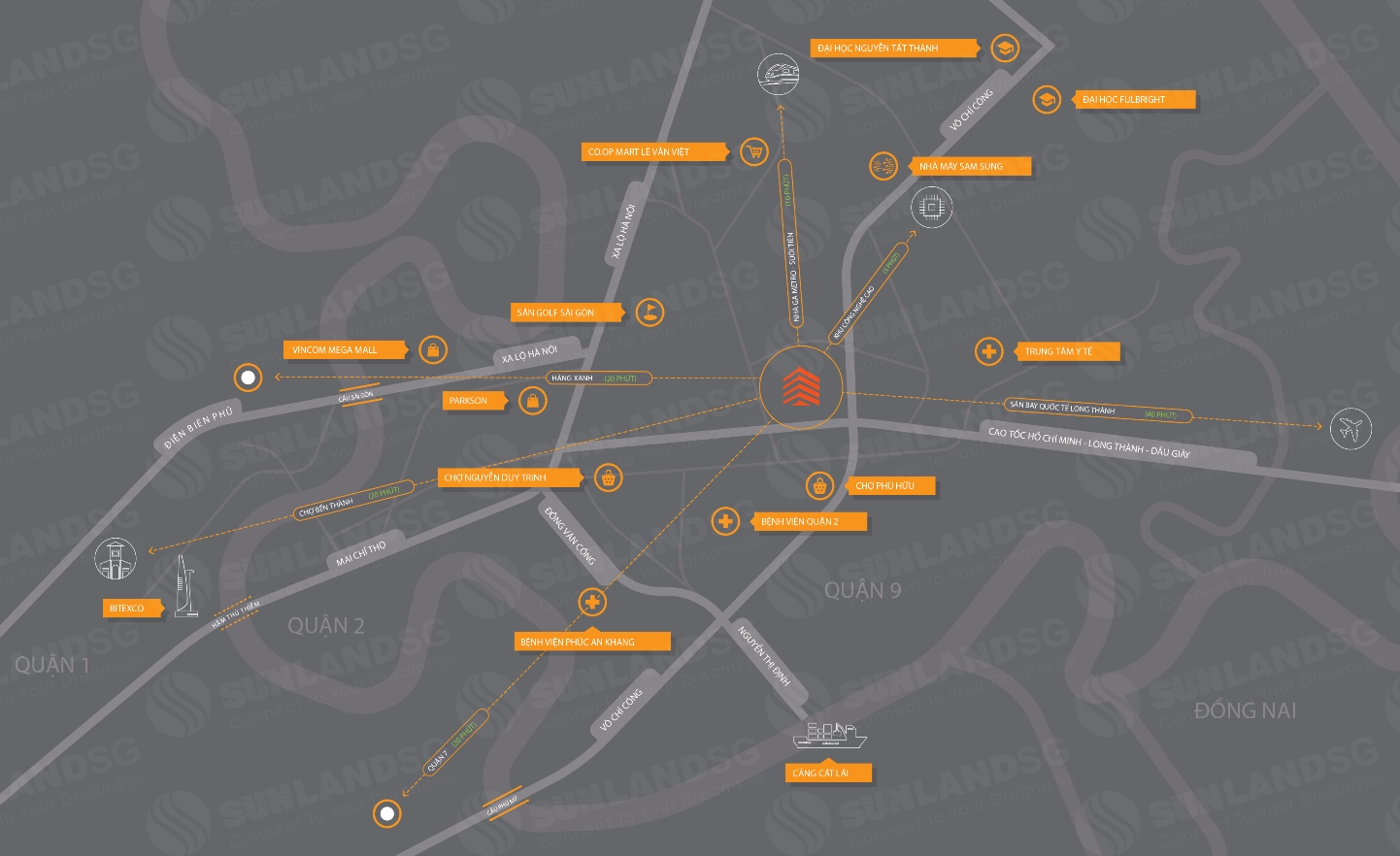Vị trí vàng-dễ dàng kết nối - Hausneo Quận 9