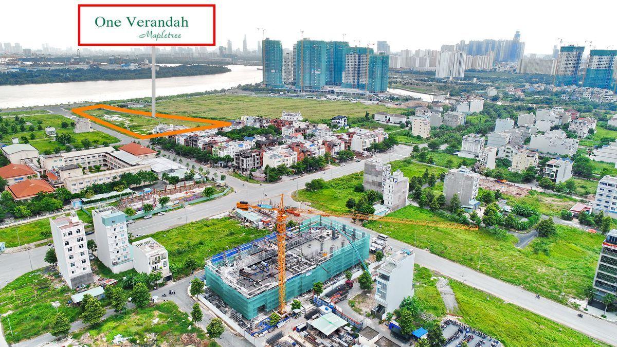 giá bán căn hộ OneVerandah