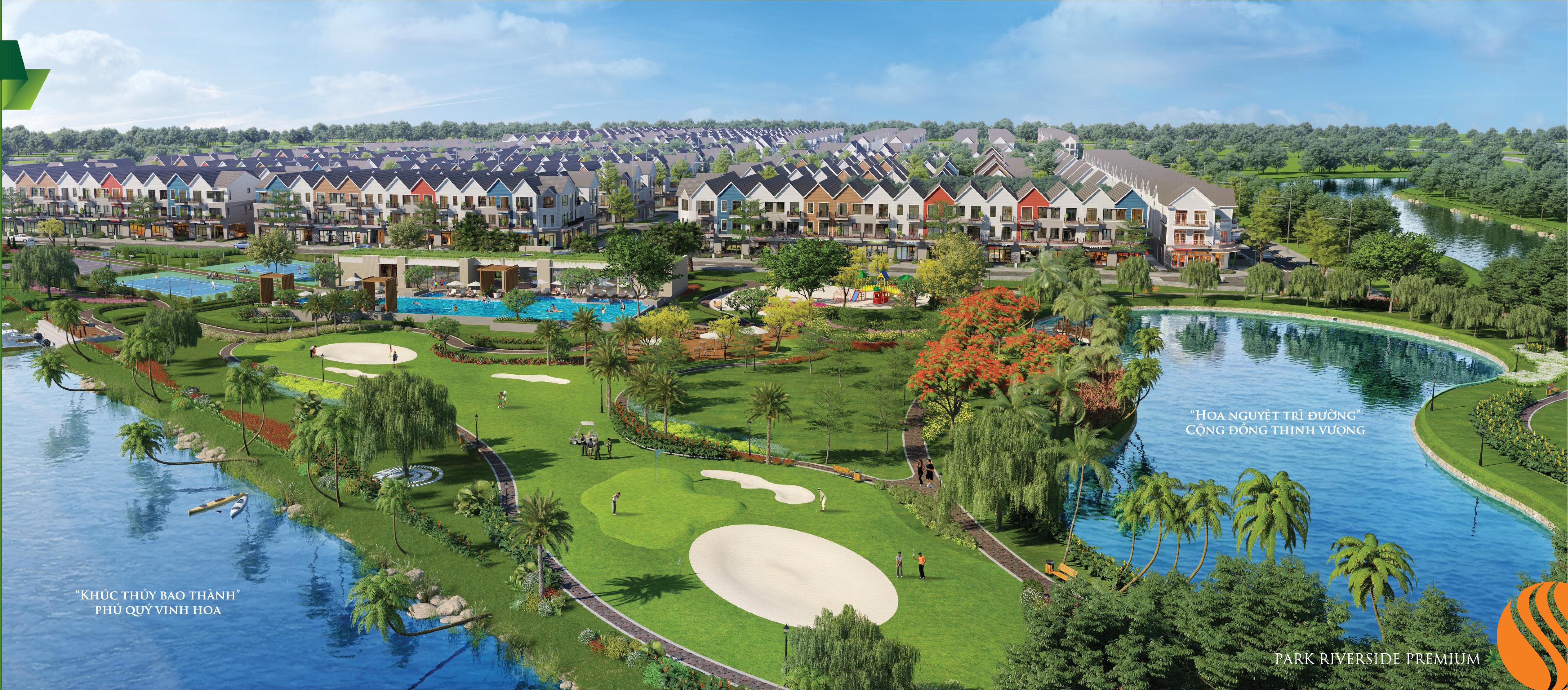 Tiện ích nội khu nổi đa dạng chỉ có tại Park Riverside Premiums