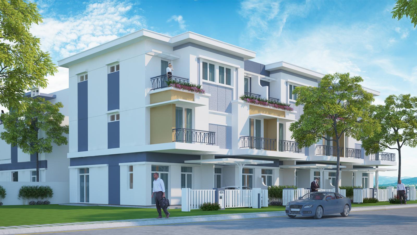 Mẫu nhà dự án Rosita Garden Khang Điền