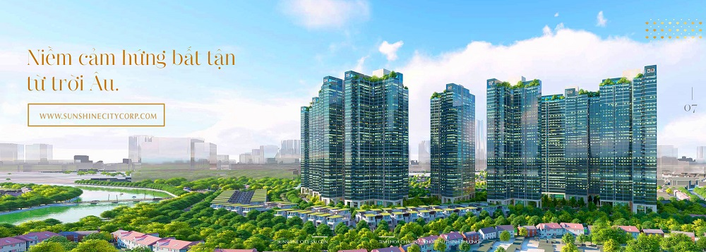 phoi canh sunshine city saigon