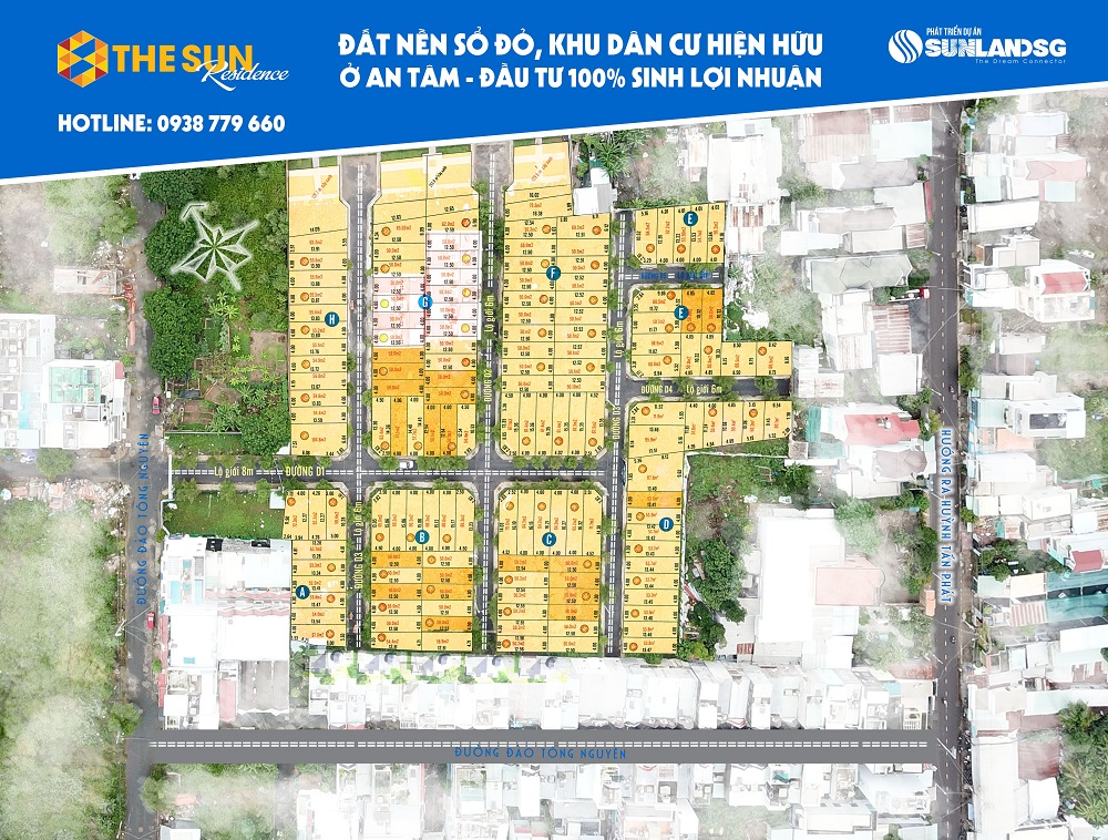 Cung cấp thông tin dự án đất nền the sun residence giá rẻ tại quận 3