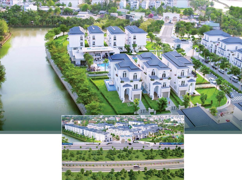 biệt thự venica khang điền tổng thể dự án