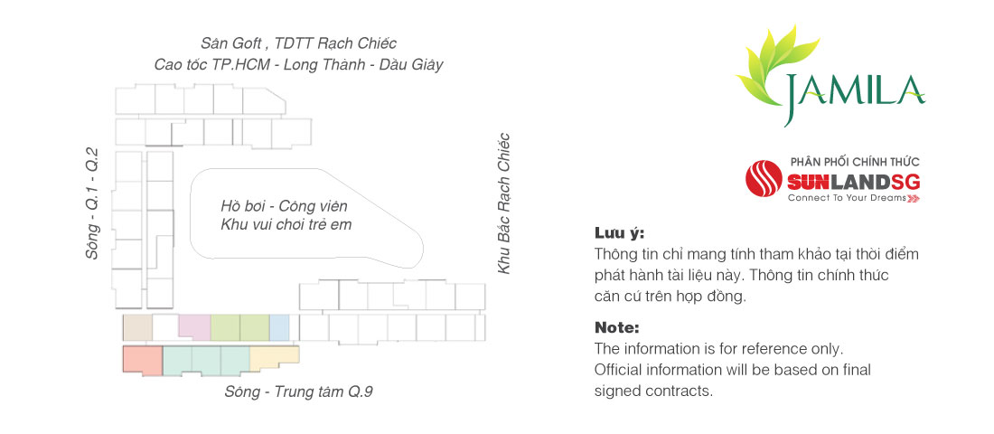 Mặt bằng tầng điển hình Block C & D Jamila Khang Điền Quận 9
