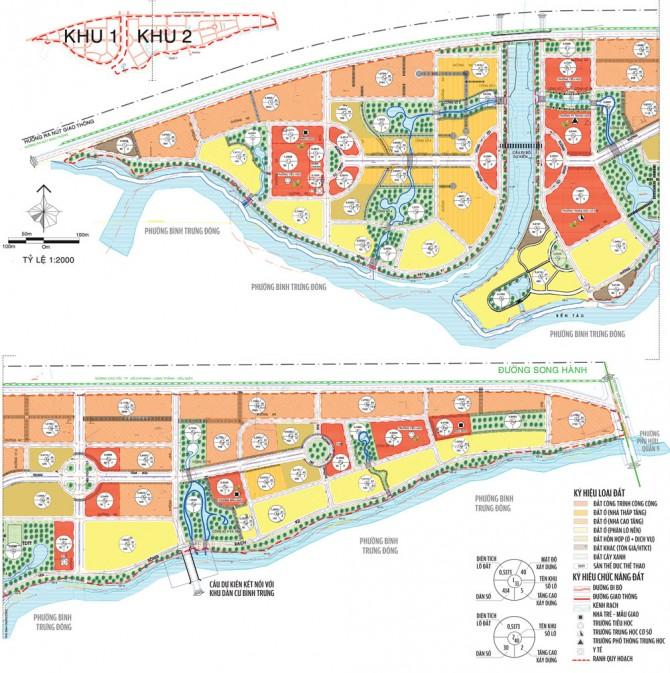 Quy hoạch tổng thể các tuyến đường tại Quận 2, Quận 9