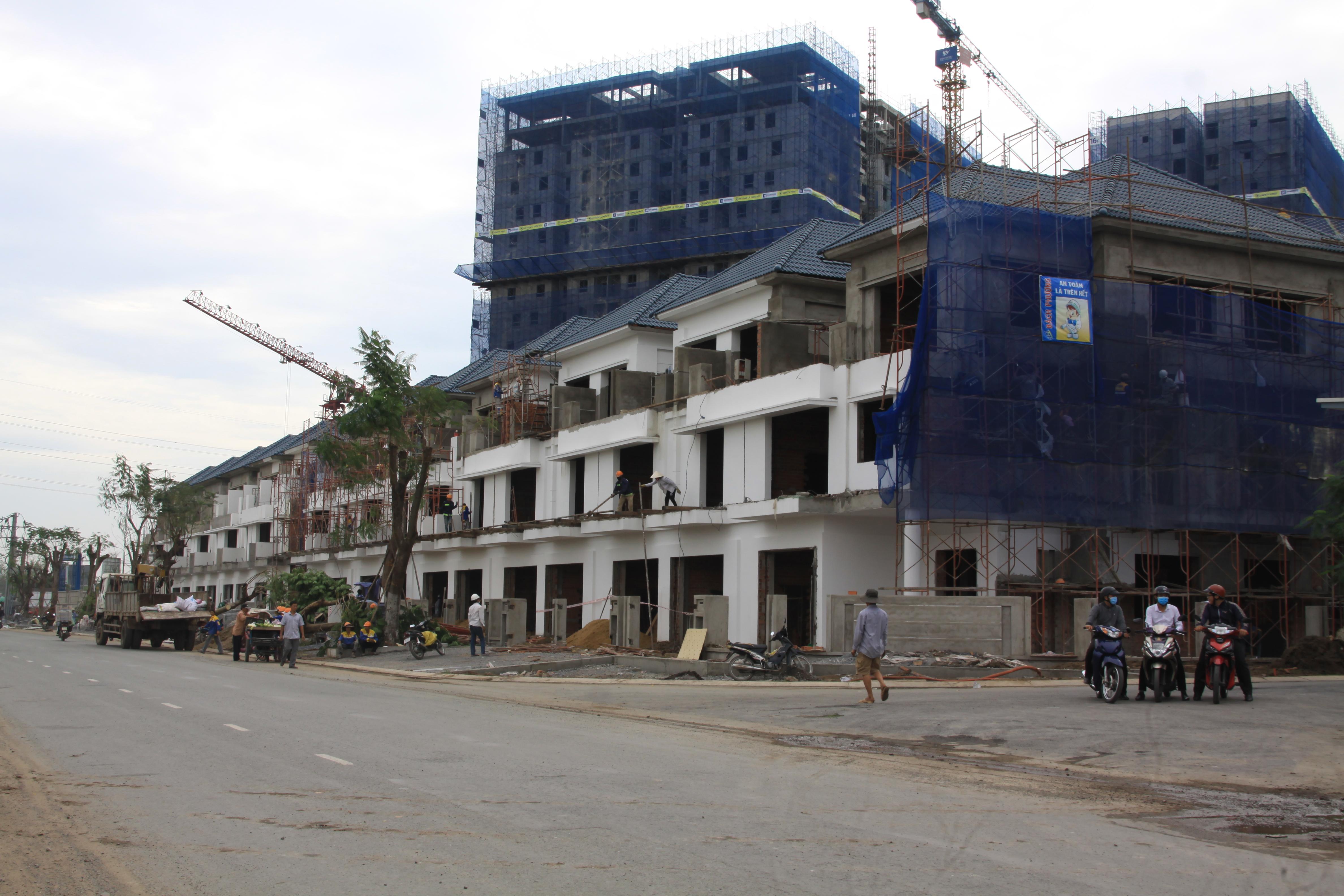 mặt tiền liên phường dự án merita