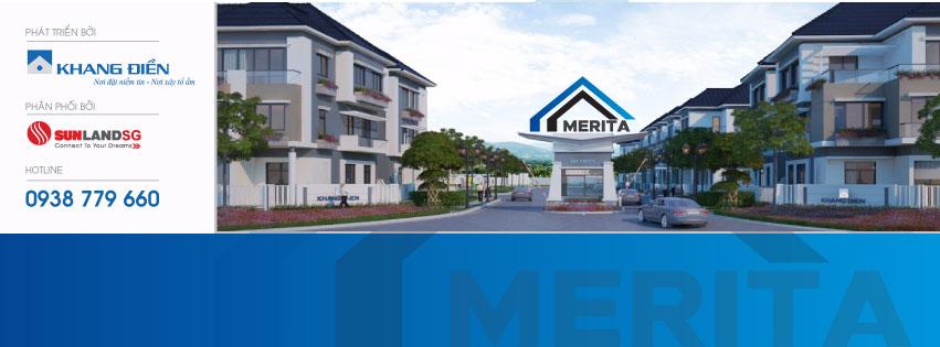 dự án nhà phố thương mại Merita Khang Điền Quận 9
