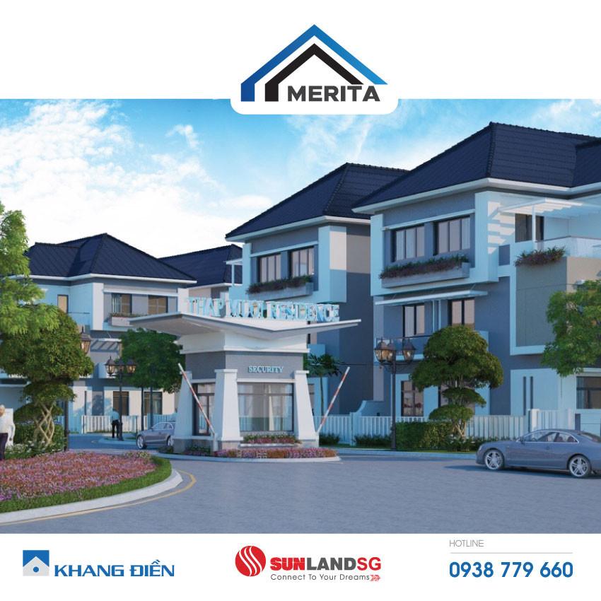 Phối cảnh dự án Tháp Mười Merita