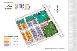 Mở bán shophouse khu đô thị thông minh Simcity  chiết khấu cao LH 0935190230