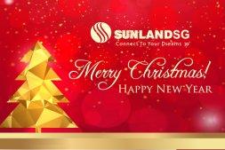 Sunland Sài Gòn chúc giáng sinh an lành đến khách hàng