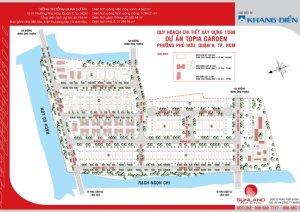 Kẹt tiền cần bán lại lô đất dự án Topia, lô nhà phố 96m, trục đường lớn 18m