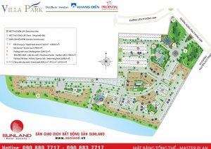 Villa Park nhà phố  diện tích 8x17,đường 14m,hướng nam,sổ hồng,giá 7tỷ,lh 0949766228 Mr Hải