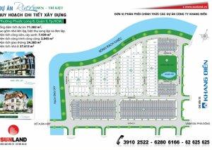 Bán nền A1/9 Dự án Trí Kiệt, PLB. 6x24m, giá 21.5tr/m2